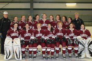 2012-2013 HHS Girls' Varsity Ice Hockey Team