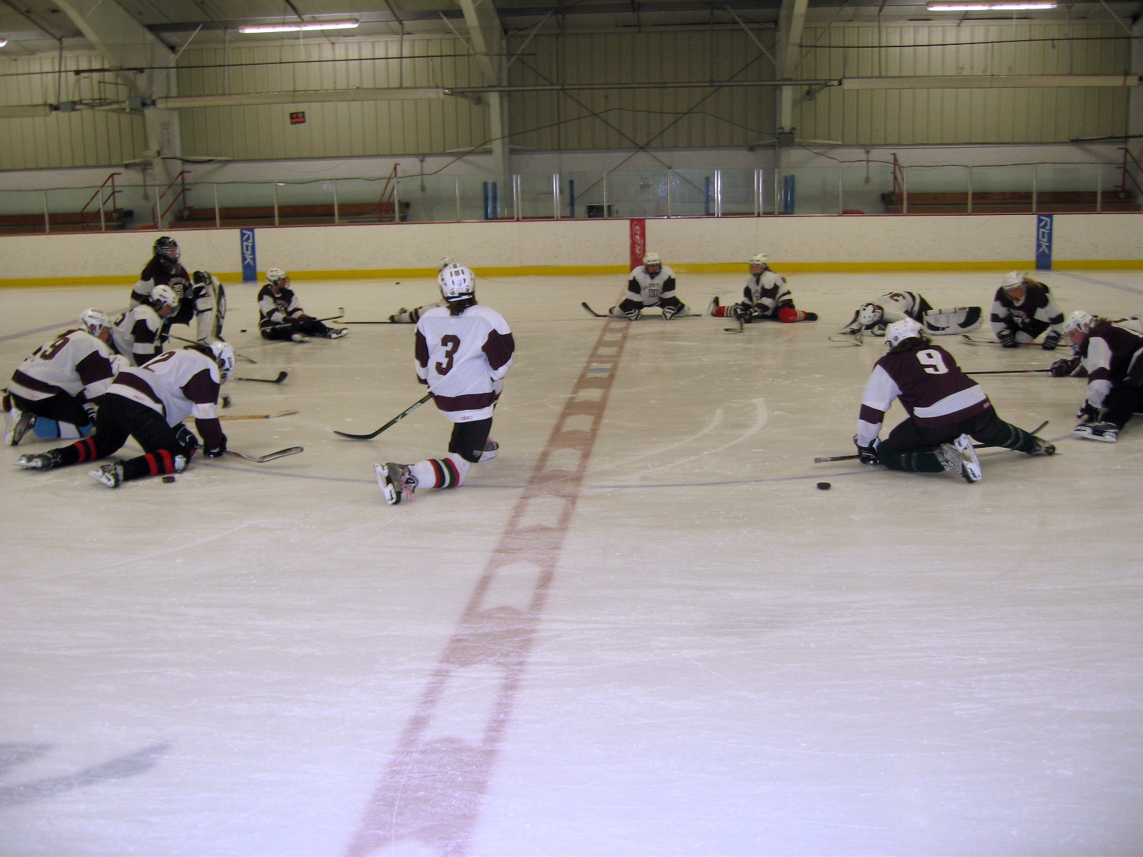 how to prepare for a hockey tryout