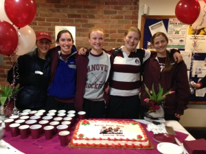 Senior Night Celebration, Saturday, February 22
