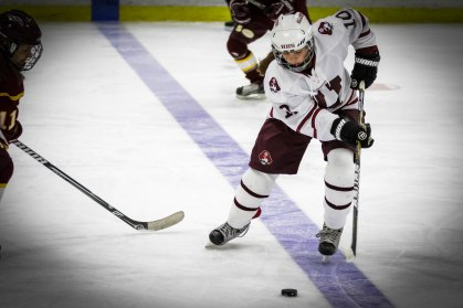 Freshman Cate Wagner makes quick decisions look second nature