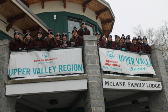 Honoring the tradition of volunteerism at the Special Olympics, January 24, 2015