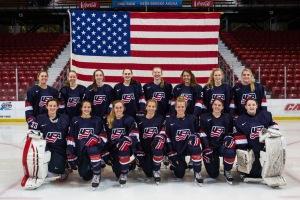 USA Hockey U-18 National Team, Matti is bottom row second from left