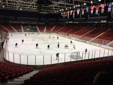 Herb Brooks Arena Practice