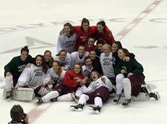 Team on Olympic Ice