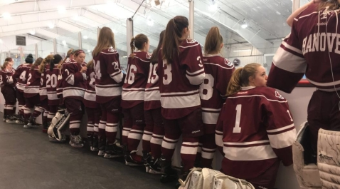 Hanover High School Girls' Ice Hockey | This site is about