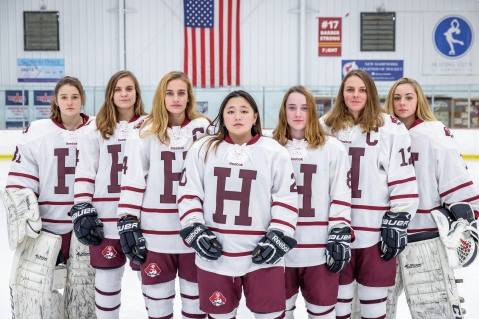 Hanover High School Girls' Ice Hockey   This site is about